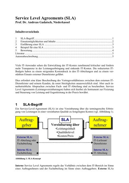 3 Most Common Types Of Service Level Agreement Sla 3