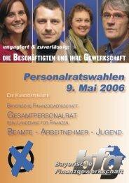 Bilderbogen Stafi - bei der Bayerischen Finanzgewerkschaft