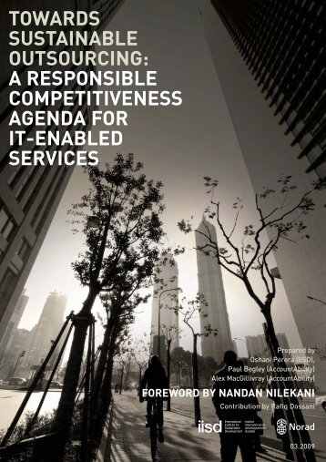 TOWARDS SUSTAINABLE OUTSOURCING: A ... - AccountAbility