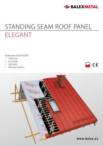 Snow Retention On Standing Seam Metal Roofs Mbci