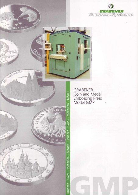 GRABENER Coin and Medal Embossing Press ... - Retecon.co.za