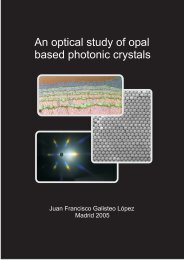 An optical study of opal based photonic crystals