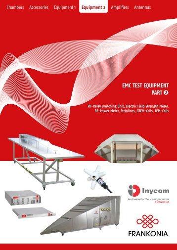 EMC TEST EQUIPMENT PART 2 - Inycom