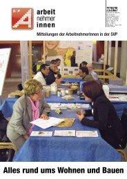 Nr. 4/2010 (Oktober): Alles rund ums Wohnen - ArbeitnehmerInnen ...