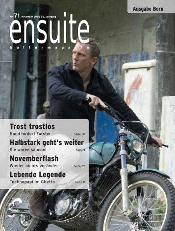 ensuite - kulturmagazin // kulturagenda.ch 2008