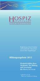 Bildungsangebote 2012 - eva