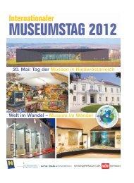 Internationaler MUSEUMSTAG 2012 - ICOM Österreich