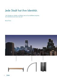 Urbanes Mobiliar - Produktideen Poller 2012 - Pruente.de