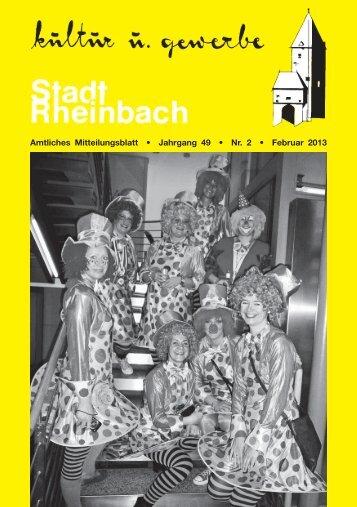Februar 2013 - Rheinbach