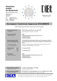 European Technical Approval ETA-99/0010 - EJOT