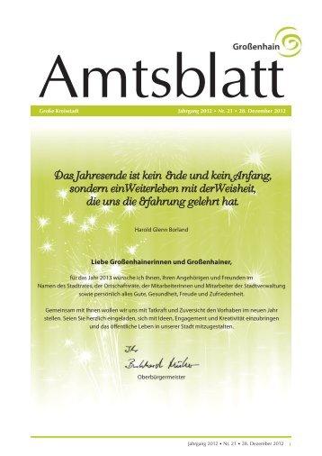 Ausgabe 21-12 vom 28.12.2012.pdf - Stadt Grossenhain