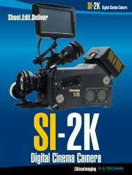 SI-2K Digital Cinema Camera