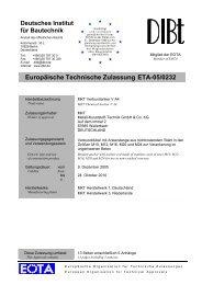 Europäische Technische Zulassung ETA-05/0232 - Mercateo