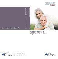 Osteoporose - Labor Clotten