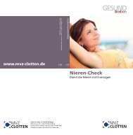 Nieren-Check - Labor Clotten