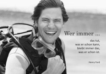 Karrierebooklet in Großansicht downloaden - Markus Steger