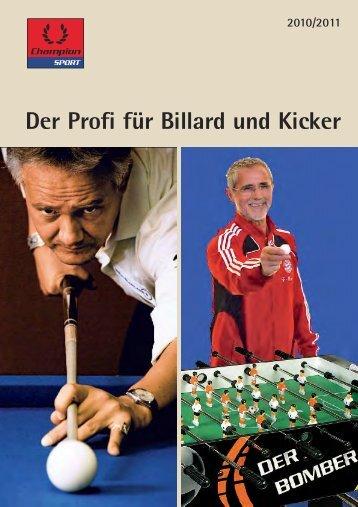 """Efs Qsp"""" g°s Cjmmbse voe Ljdlfs - Billard Sport Freizeit"""