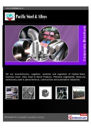 We are manufacturers, suppliers, stockists and exporters of Carbon ...