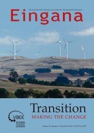 Eingana - Australian Association for Environmental Education