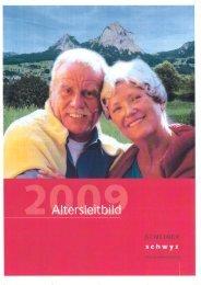 Altersleitbild der Gemeinde Schwyz