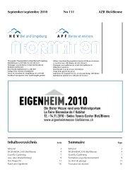 HEV-Information Nr. 111 - Hauseigentümerverband Biel und ...