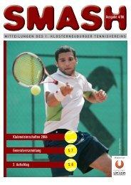 Ausgabe 4/06 Klubmeisterschaften 2006 ... - 1. KTV
