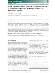 Addiction Biology - Addiction Research Laboratory Wiki