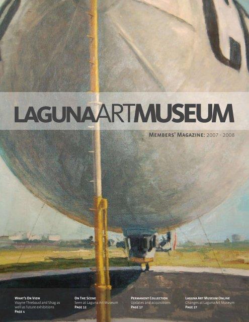 Members' Magazine: 2007 - 2008 - Laguna Art Museum