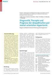 Hypertonie, idiopatische pulmonal-arterielle - Berner Institut für ...