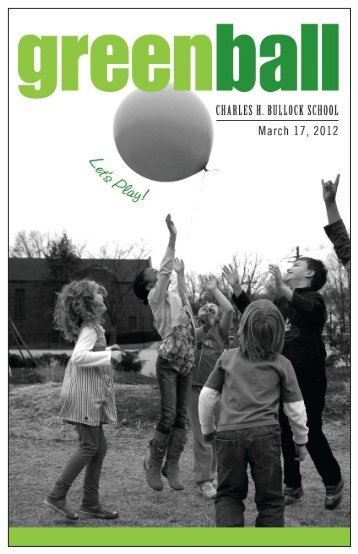 Green Ball Program - Check out the exciting items - Montclair PTA ...