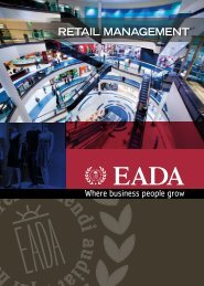 RETAIL MANAGEMENT - EADA