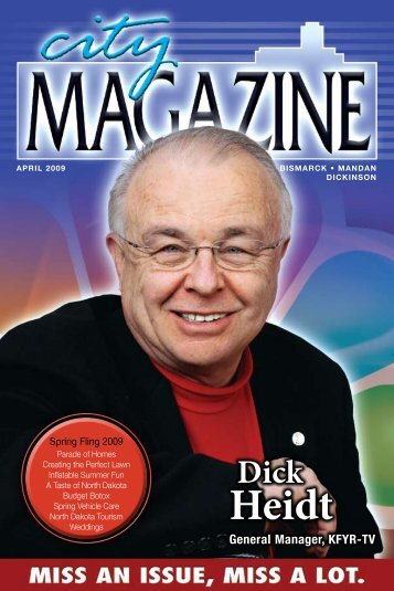 Dick Heidt - City Magazine