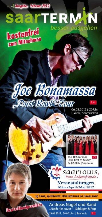 Joe Bonamassa Joe Bonamassa - erlebnistermin