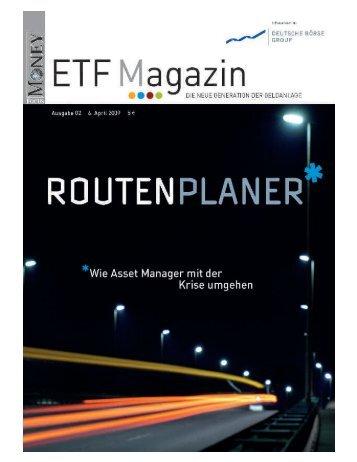 "ETF-Magazin: ""Routenplaner"" (Q2-2009) - Börse Frankfurt"