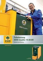 Pelletheizung KWB Easyfire 10-30 kW - Kindermann