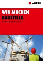 Baustellen-Projekt-Management - Würth