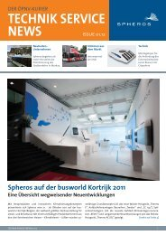 Technik Service News 2012 - Spheros