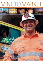 New Look Mine to Market! - Xstrata Zinc