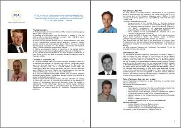 EGA Annual Symposium on Biosimilar Medicines - GPA Conferences