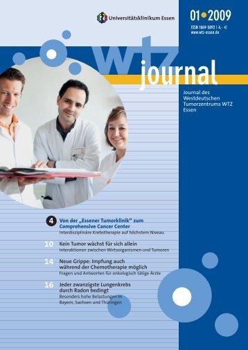 Ausgabe 1-2009 - Westdeutsches Tumorzentrum Essen