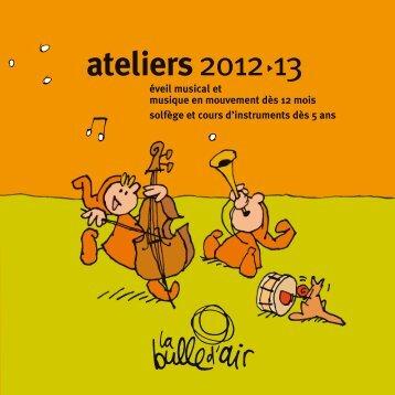 ateliers 12-13 [pdf] - La Bulle d'Air