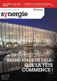 Synergie, le magazine d'Eiffage