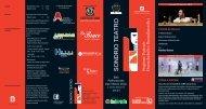 Pieghevole Sondrio Teatro 2012-2013 - Comune di Sondrio