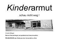 Kinder armut - Universität zu Köln