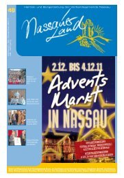 Mitteilungsblatt Ausgabe 48 - 2011 - Verbandsgemeinde Nassau