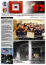 Feuerwehrnachrichten Ausgabe 01-2012 - Neunkirchen, Nahe