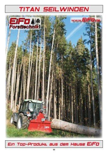 TITAN SEILWINDEN - Forsttechnik