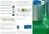 Farbkennzeichnung von Gasflaschen - Linde Gas