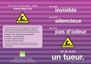 Risques d'asphyxie - Gaz inertes - Air Liquide