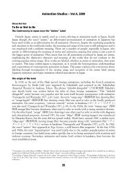 Here - Animation Studies Online Journal - Society for Animation ...